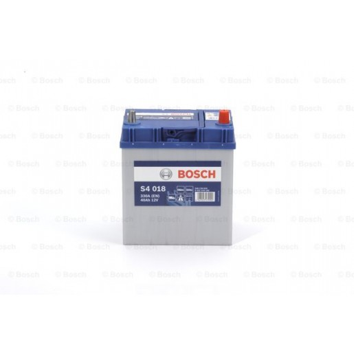 0092S40180 BATERIE ASIA BOSCH S4 S4 018 12V 40AH 330A 187X127X227 +DR