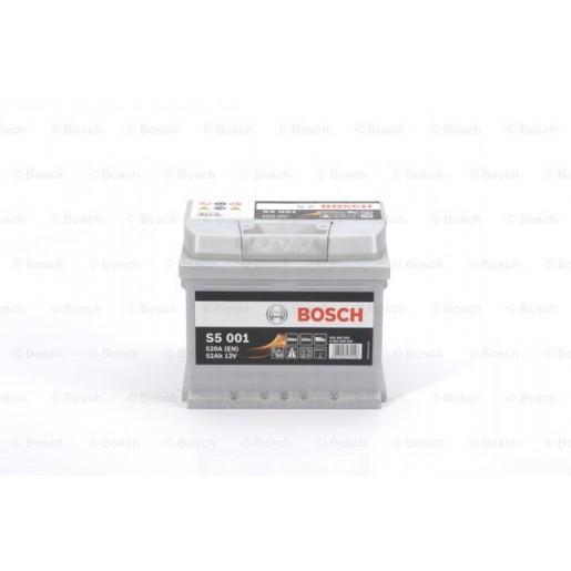 0092S50010 BATERIE BOSCH S5 S5 001 12V 52AH 520A 207X175X175 +DR