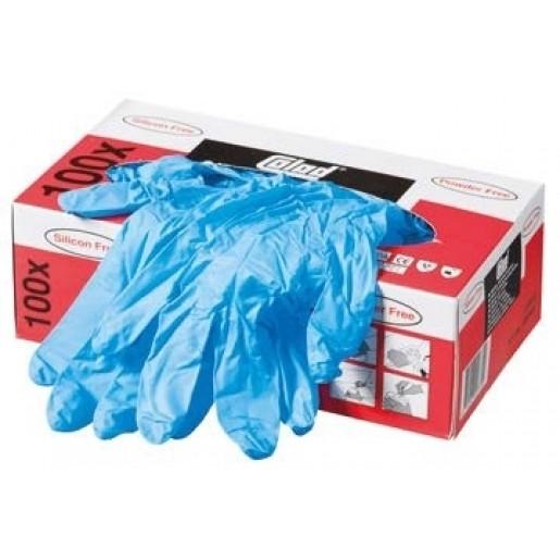 Mănuși Nitril Colad Albastru, Large, 100 buc.- 530900CLD