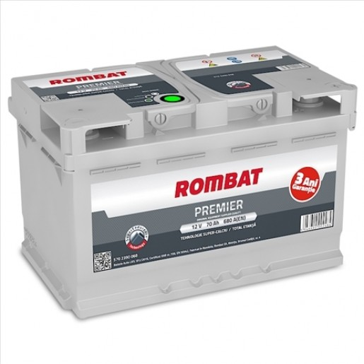 BATERIE ROMBAT PREMIER 70AH 680A