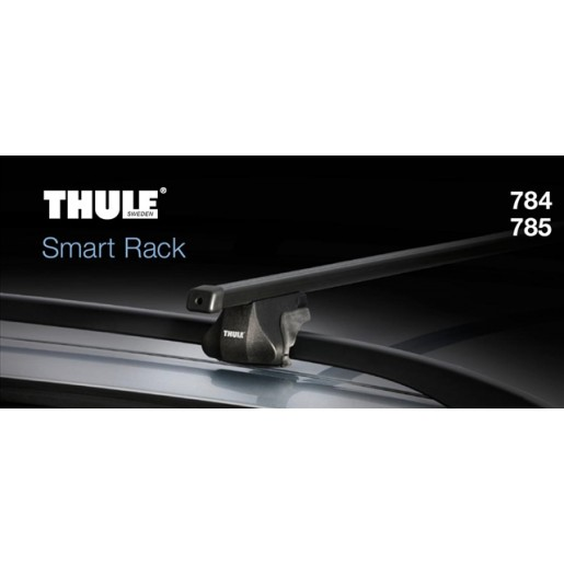 784000-THULE 784 SET BARE TRANSVERSALE SMARTRACK OTEL THULE