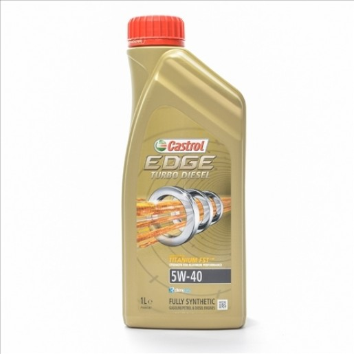 CASTROL EDGE TURBO DIESEL 5W-40 1 LT