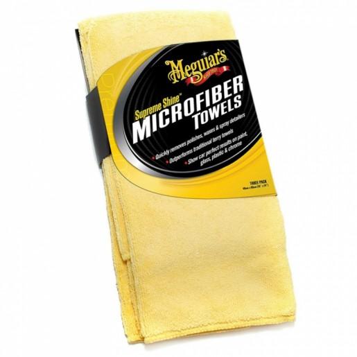 X2010EUMG LAVETA CURATARE SUPRAFETE,SUPREME SHINE MICROFIBER TOWEL - (1 PACK) - MEGUIARS