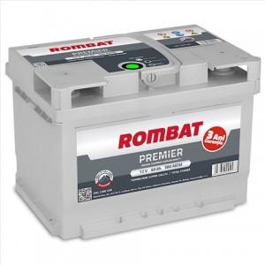 BATERIE ROMBAT PREMIER 60AH 580A