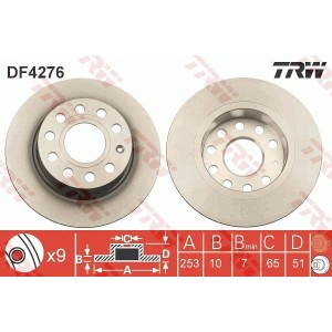 DISC FRANA - TRW DF4276