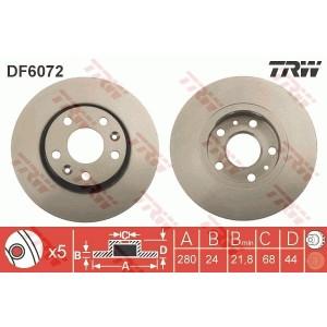 DISC FRANA - TRW DF6072