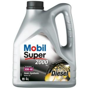 MOBIL SUPER 2000 X1 DIESEL 10W-40 (4L)