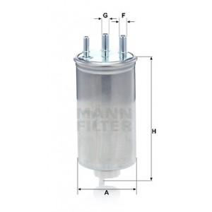 MANN-FILTER WK 8039
