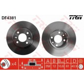 DISC FRANA - TRW DF4381